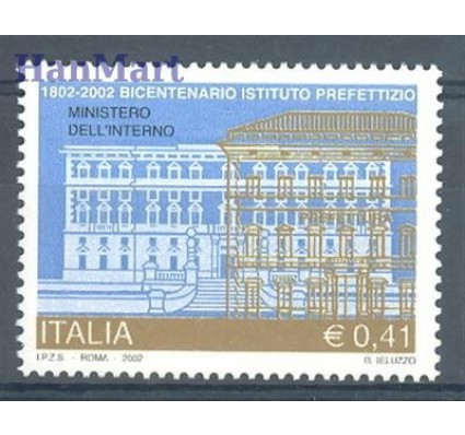 Włochy 2002 Mi 2855 Czyste **