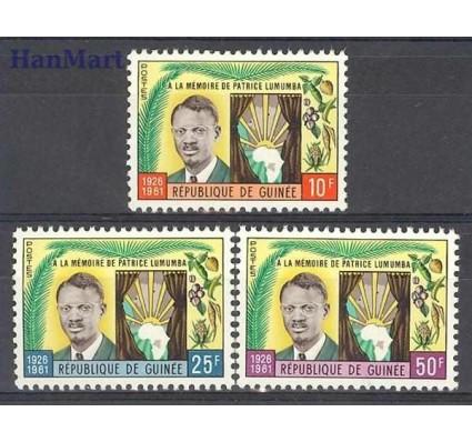 Znaczek Gwinea 1962 Mi 92-94 Czyste **