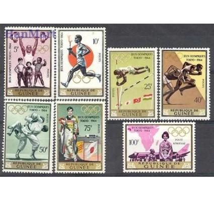 Gwinea 1965 Mi 265-271 Czyste **
