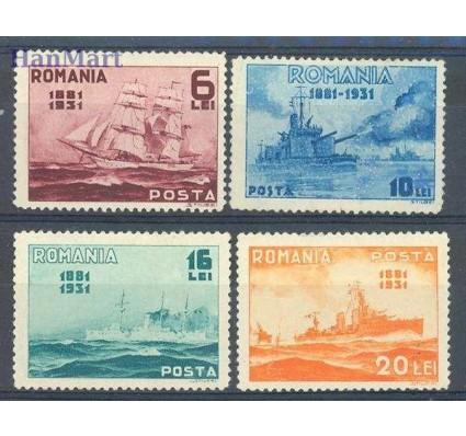 Znaczek Rumunia 1931 Mi 402-405 Czyste **