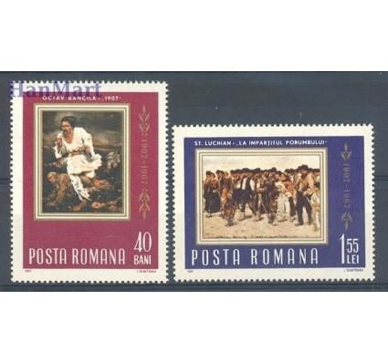 Znaczek Rumunia 1967 Mi 2592-2593 Czyste **