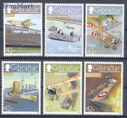 Znaczek Gibraltar 2009 Mi 1318-1323 Czyste **