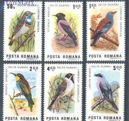 Znaczek Rumunia 1983 Mi 3966-3971 Czyste **