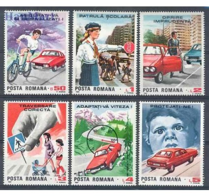 Znaczek Rumunia 1987 Mi 4411-4416 Czyste **