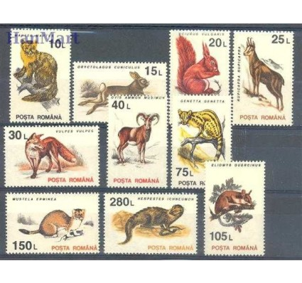 Znaczek Rumunia 1993 Mi 4901-4910 Czyste **