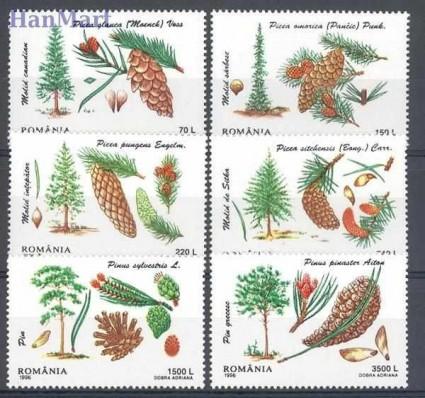 Znaczek Rumunia 1996 Mi 5202-5207 Czyste **