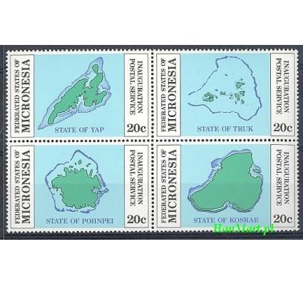 Mikronezja 1984 Mi 1-4 Czyste **
