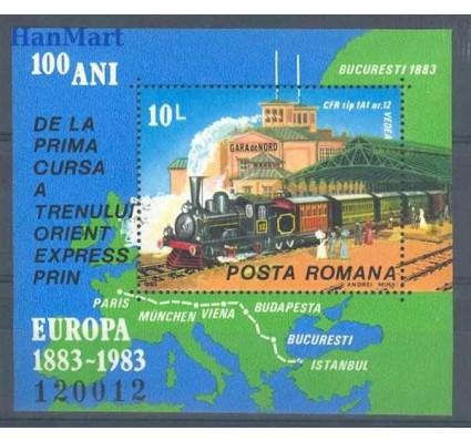 Znaczek Rumunia 1983 Mi bl 198 Czyste **