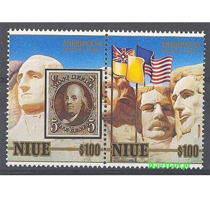Niue 1986 Mi 665-666 Czyste **