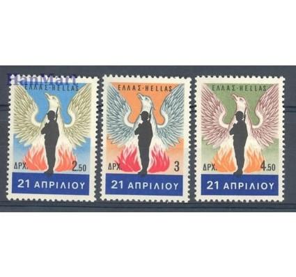 Znaczek Grecja 1967 Mi 958-960 Czyste **