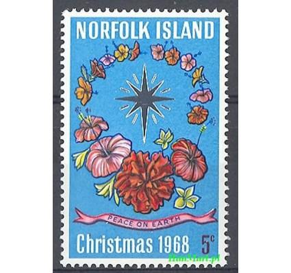 Znaczek Norfolk 1968 Mi 100 Czyste **