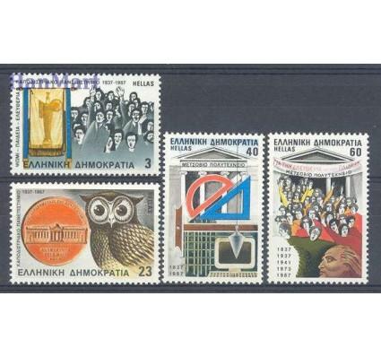 Znaczek Grecja 1987 Mi 1656-1659 Czyste **