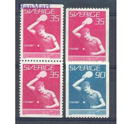 Znaczek Szwecja 1967 Mi 578-579C,Do,Du Czyste **