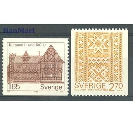 Znaczek Szwecja 1982 Mi 1193-1194 Czyste **