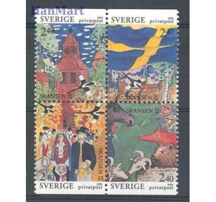 Znaczek Szwecja 1991 Mi 1668-1671 Czyste **