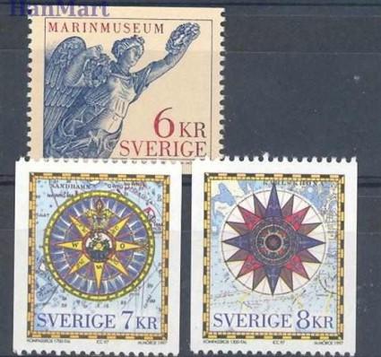 Znaczek Szwecja 1997 Mi 2006-2008 Czyste **