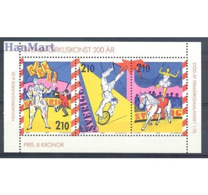 Znaczek Szwecja 1987 Mi h-blatt 151 Czyste **
