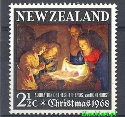 Znaczek Nowa Zelandia 1968 Mi 491 Czyste **