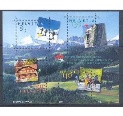 Znaczek Szwajcaria 2005 Mi bl 39 Czyste **
