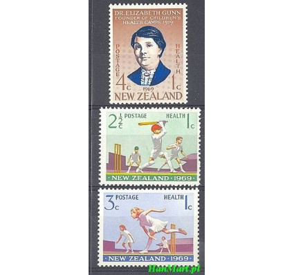 Znaczek Nowa Zelandia 1969 Mi 504-506 Czyste **