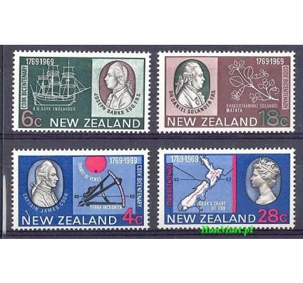 Znaczek Nowa Zelandia 1969 Mi 510-513 Czyste **
