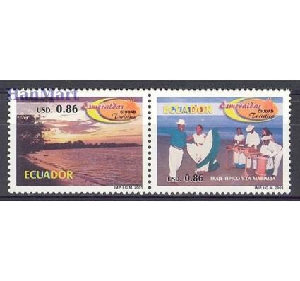 Znaczek Ekwador 2001 Mi 2572-2573 Czyste **