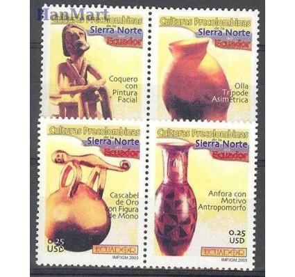 Znaczek Ekwador 2003 Mi 2735-2738 Czyste **