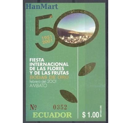 Znaczek Ekwador 2000 Mi bl 160 Czyste **