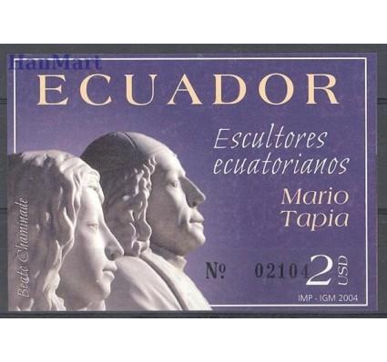 Znaczek Ekwador 2004 Mi bl 178 Czyste **