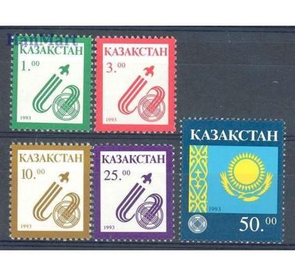 Znaczek Kazachstan 1993 Mi 18-22 Czyste **