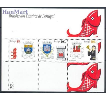 Znaczek Portugalia 1998 Mi bl 140 Czyste **
