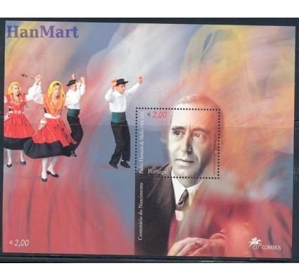 Znaczek Portugalia 2004 Mi bl 203 Czyste **