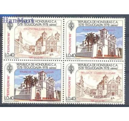 Znaczek Honduras 1986 Mi 1029-1032 Czyste **