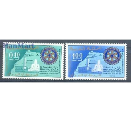 Znaczek Maroko 1968 Mi 622-623 Czyste **