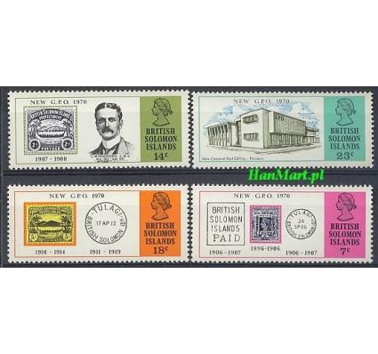 Znaczek Wyspy Salomona 1970 Mi 191-194 Czyste **