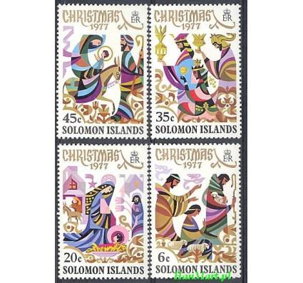 Znaczek Wyspy Salomona 1977 Mi 342-345 Czyste **