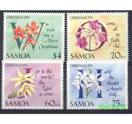Samoa i Sisifo 1991 Mi 720-723 Czyste **