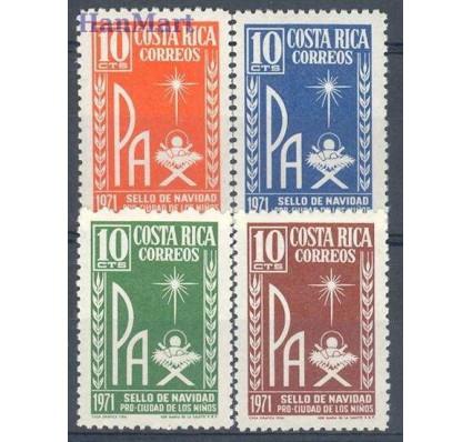 Znaczek Kostaryka 1971 Mi 53-56 Czyste **