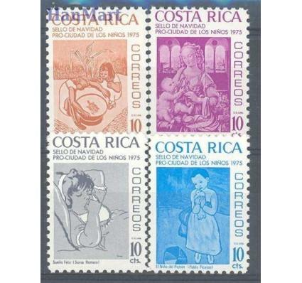 Znaczek Kostaryka 1975 Mi zwa 69-72 Czyste **