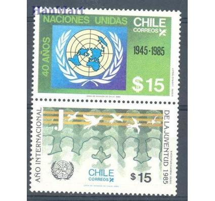 Chile 1985 Mi 1096-1097 Czyste **