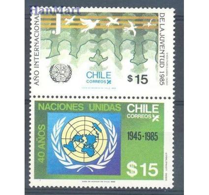 Znaczek Chile 1985 Mi 1096-1097 Czyste **