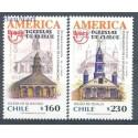 Chile 2001 Mi 2031-2032 Czyste **