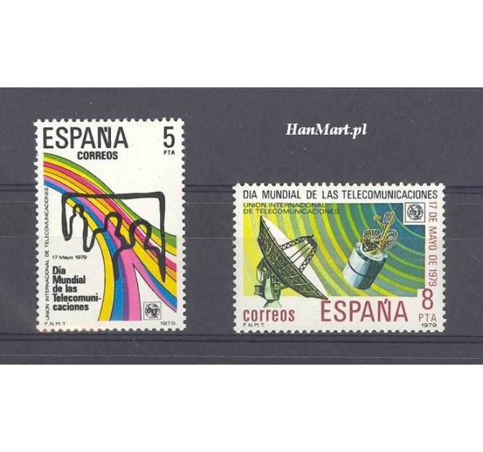 Hiszpania 1979 Mi 2414-2415 Czyste **