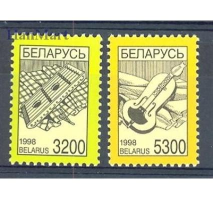 Znaczek Białoruś 1998 Mi 267-268 Czyste **