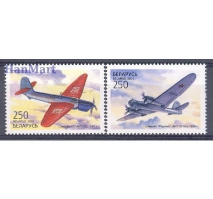 Znaczek Białoruś 2001 Mi 399-400 Czyste **