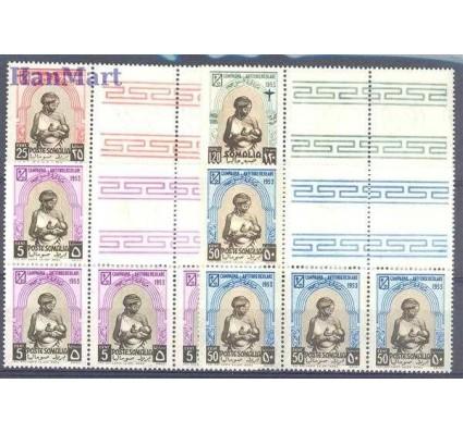 Znaczek Somaliland Włoski 1953 Mi 275-278 Czyste **