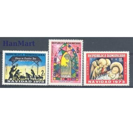 Znaczek Dominikana 1973 Mi 1049-1051 Czyste **