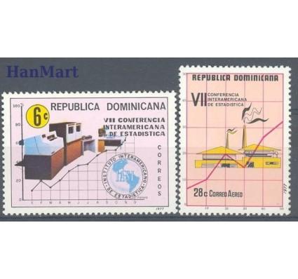 Znaczek Dominikana 1977 Mi 1172-1173 Czyste **