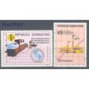 Dominikana 1977 Mi 1172-1173 Czyste **