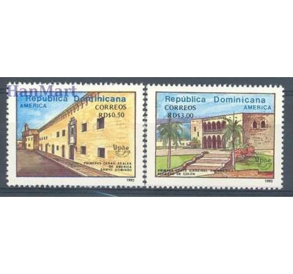 Znaczek Dominikana 1992 Mi 1660-1661 Czyste **